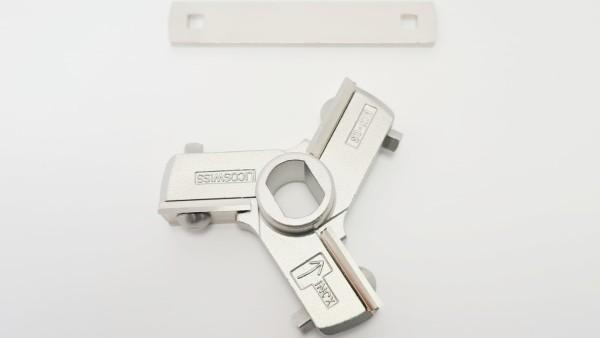 Kreuzmesser LIPS Fleischwolf EWF 70 (Ø 70 mm)