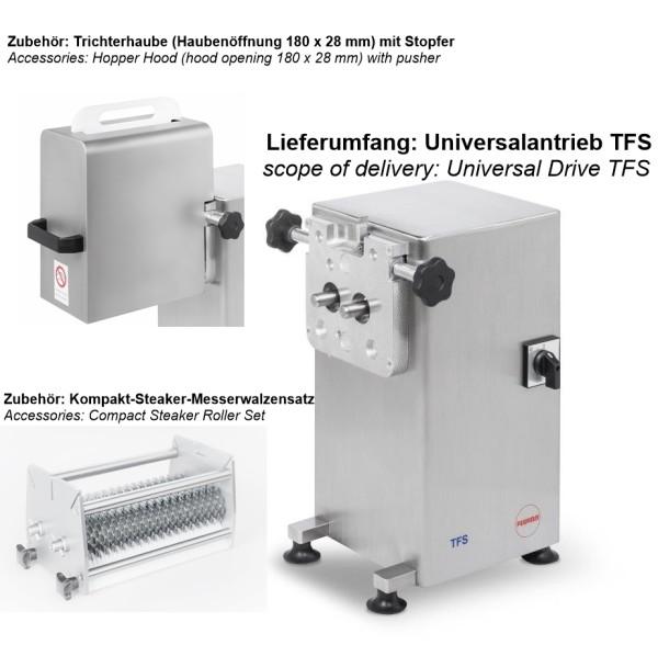Universalantrieb TFS (400 V) in Edelstahl