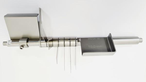 Fächermessersatz 10,0 mm
