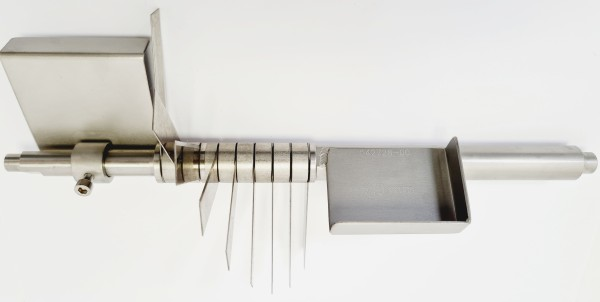 Fächermessersatz 7,5 mm