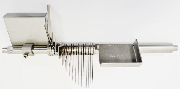 Fächermessersatz 3,5 mm