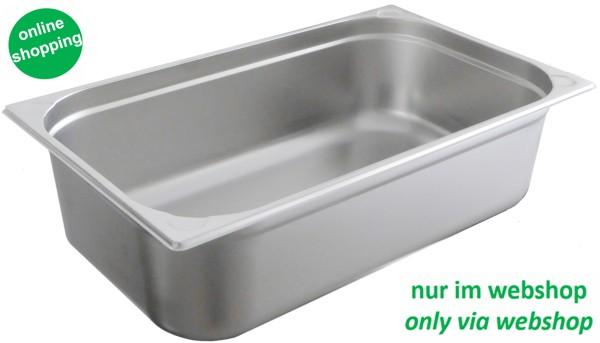 Edelstahl Gastronorm Behälter GN 1/1 - 150 mm