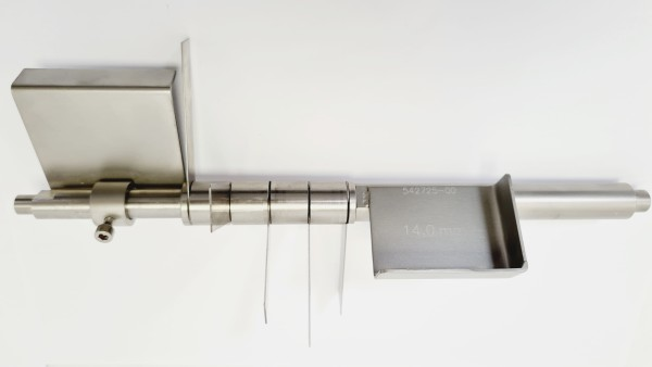 Fächermessersatz 14,0 mm